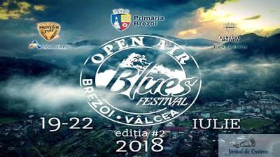 Programul Open Air Blues Festival Brezoi - Valcea 2018 1