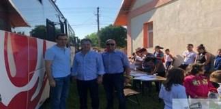 Campania PNL Dolj - Ofera o sansa! Doneaza sange! a ajuns la Silistea Crucii