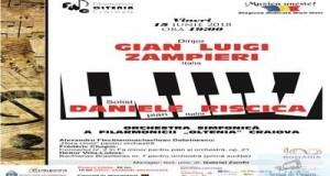 Concert Chopin cu tanarul pianist italian Daniele Riscica la Filarmonica Oltenia Craiova 20