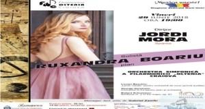 Concertul in Fa pentru pian  de Gershwin  sub bagheta spaniolului Jordi Mora la Filarmonica Oltenia Craiova 1