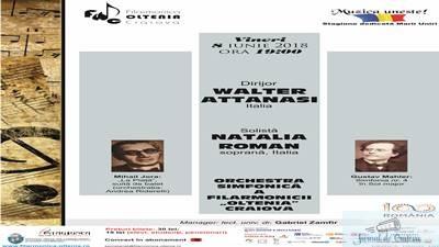 Mahler si regasirea copilariei,  cu maestrul Walter Attanasi la pupitrul dirijoral 1