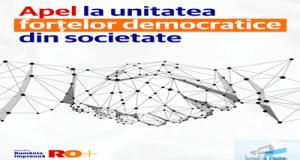 Dacian Ciolos, presedinte  Miscarea Romania Impreuna si Dan Barna, presedinte  USR : Apel la unitatea fortelor democratice din societate 8