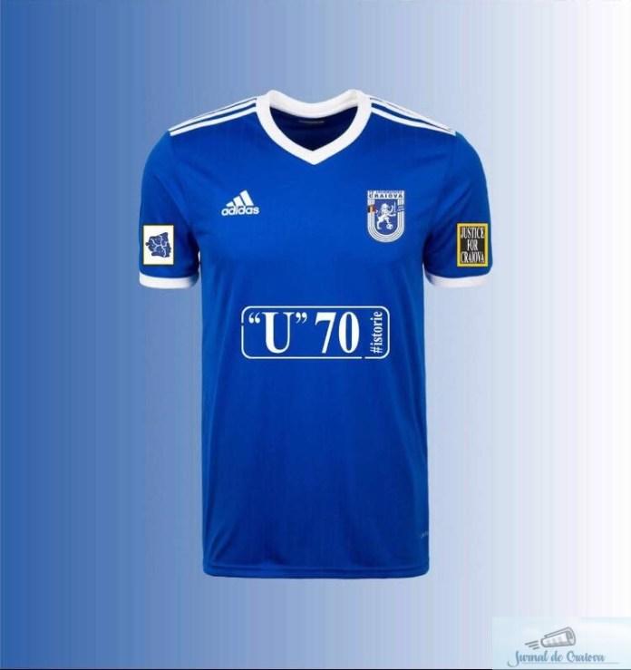 Fotbal : Fc U Craiova si-a prezentat tricoul oficial pentru sezonul 2018-2019 2