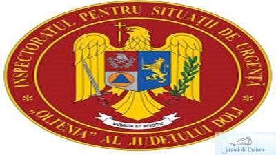 ISU Dolj a intervenit in ultimele 24 de ore la 41 situatii de urgenta! 1