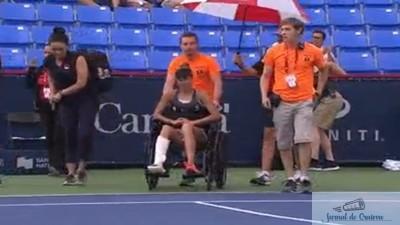 Tenis : Mihaela Buzarnescu a abandonat la Rogers Cup dupa o accidentare terifianta 1