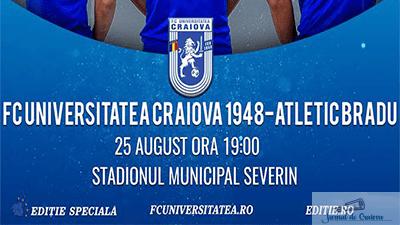 Fotbal : Drumul spre Liga 2 incepe maine pentru FC U Craiova ! 1