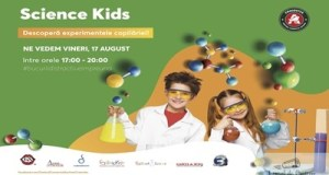 Super experimente stiintifice dedicate copiilor vin in Centrul comercial Auchan Craiovita ! 3