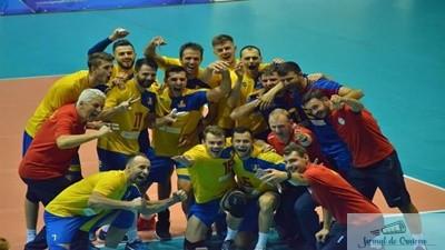 VOLEI: ROMANIA S-A CALIFICAT LA CAMPIONATUL EUROPEAN DUPA 23 DE ANI 1