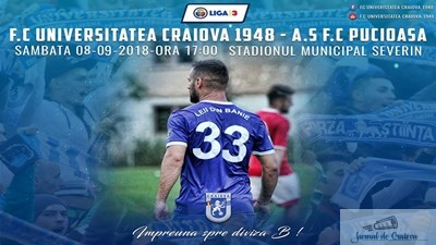 Fotbal : FC U Craiova intalneste la Severin FC Pucioasa, vechea echipa FC Aninoasa 1