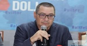 Victor Ponta la Craiova : Liviu Dragnea a inceput campania cu pesta porcina. Uita cand taia porcul pe la SRI. 8