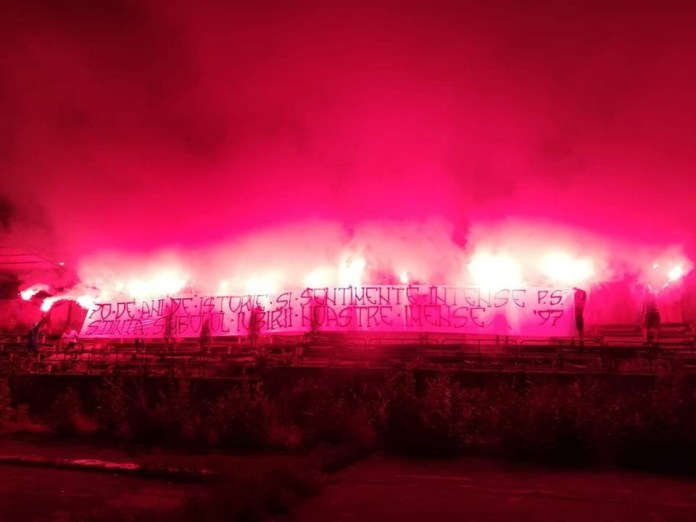 Fotbal : Peluza Sud 1997 a sarbatorit 70 de ani de la infiintarea echipei Universitatea Craiova 2