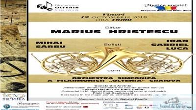 Filarmonica Oltenia Craiova : Dublul concert pentru corn de Haydn, o raritate pe scena Filarmonicii 1