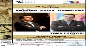 Filarmonica Oltenia Craiova : Concert simfonic cu spaniolul Antonio Momblant la pupitrul dirijoral 12