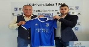 Fotbal : Marcel Puscas a semnat contractul cu FC U Craiova 17