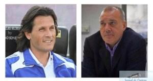 Fotbal : Marcel Puscas - Presedinte si Nicolo Napoli - antrenor  la FC U Craiova 12