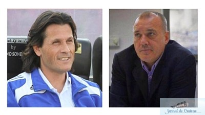 Fotbal : Marcel Puscas - Presedinte si Nicolo Napoli - antrenor  la FC U Craiova 1