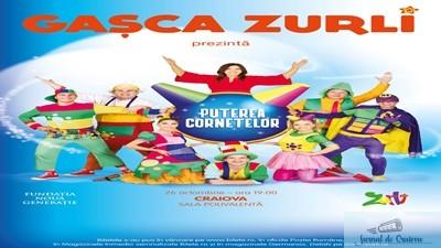 "Gasca Zurli aduce ""Puterea Cornetelor"" la Craiova 1"