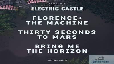 Electric Castle Festival anunta headliner-ii pentru editia din 17 – 21 iulie 2019 1