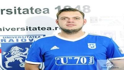 Fotbal :  Atacantul Alexandru Avram este noul transfer al echipei Universitatea Craiova 1