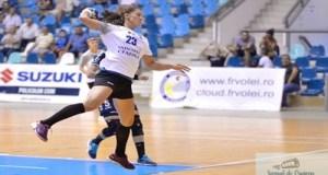 Handbal : Victorie in primul amical iar esec in al doilea pentru SCM Craiova in Cupa Consiliului Judetean Salaj 2