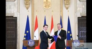 Romania preia dosarele presedintiei Consiliului UE! Klaus Iohannis, declaratii dupa intrevederea cu cancelarul Kurz 11