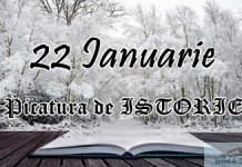 Picatura de ISTORIE – 22 Ianuarie