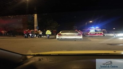 Accident cu victime la intersectia Str. Spaniei cu Nantere 1