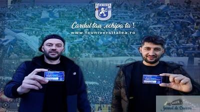 Fotbal : Premiera in Romania ! Florin Costea si Mihai Dina si-au achizitionat Cardul de Fidelitate !