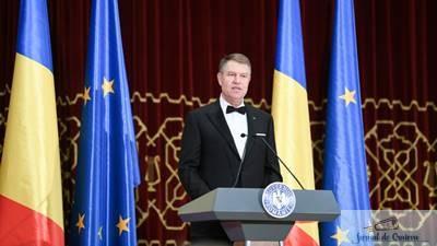 Klaus Iohannis a ingropat pentru o seara securea razboiului. Discurs istoric la ceremonia de deschidere a Presedintiei Romaniei la Consiliul