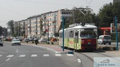 Primaria Craiova modernizeaza calea de tramvai de pe Calea Severinului, in zona industriala Cernele de Sus