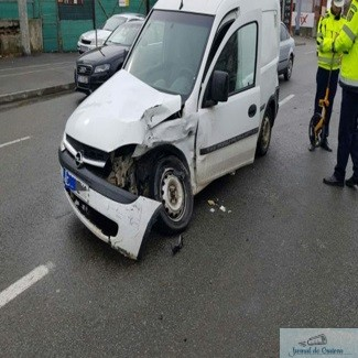 Accident in Craiova 1