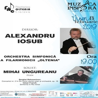 Concert Rahmaninov la Filarmonica Oltenia Craiova