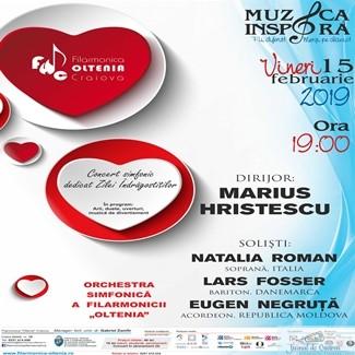 Filarmonica Oltenia Craiova : Concert extraordinar dedicat Zilei Indragostitilor 1