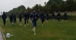 Fotbal : Primul antrenament al echipei Universitatea Craiova a avut loc pe o ploaie sacaitoare 5