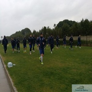 Fotbal : Primul antrenament al echipei Universitatea Craiova a avut loc pe o ploaie sacaitoare 1