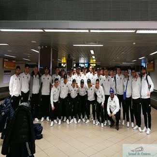 Fotbal : Delegatia echipei Universitatea Craiova a ajuns in tara ! 1