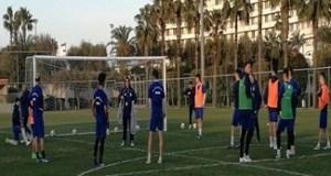 Fotbal : Nicolo Napoli a intrat la joc azi in antrenamentul echipei Universitatea Craiova din Antalya 8