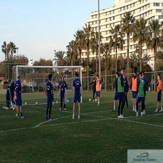 Nicolo Napoli a intrat la joc azi in antrenamentul echipei Universitatea Craiova din Antalya