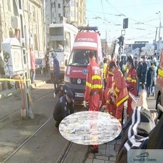Un barbat si-a pierdut viata, dupa ce a fost impins in fata tramvaiului 1
