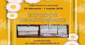 Biblioteca Aman :  Expozitie cu zeci de martisoare primite in dar de la Salonic 26