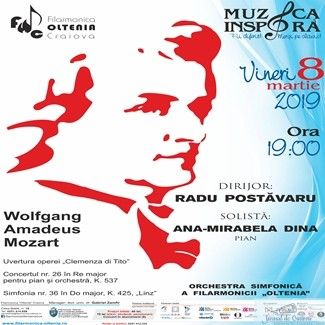 Concert Mozart de Ziua Femeii la Filarmonica Oltenia Craiova 1