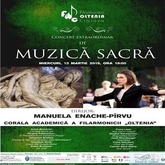 Filarmonica Oltenia Craiova : Concert extraordinar de muzica sacra 1