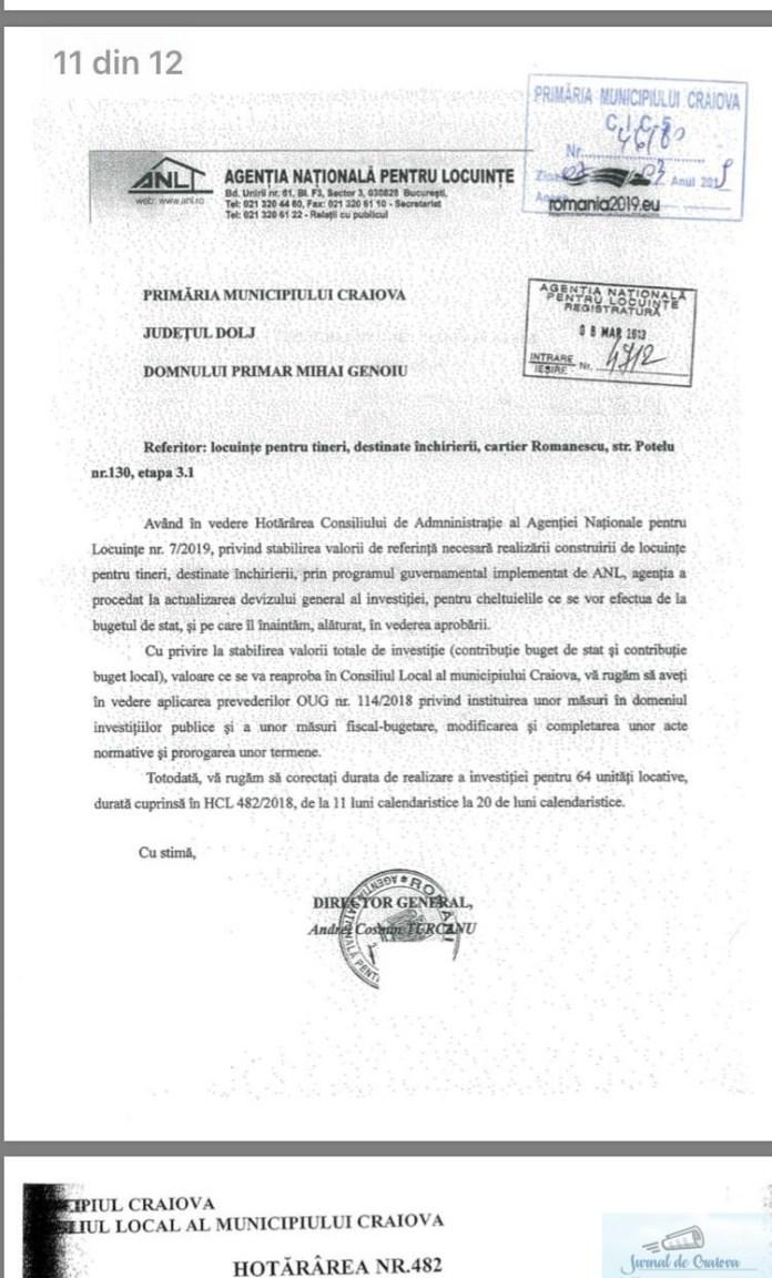 Stefan Stoica, presedintele PNL Dolj: Ordonanta 114 a Guvernului PSD-ALDE creste pretul locuintelor ANL in Craiova 2