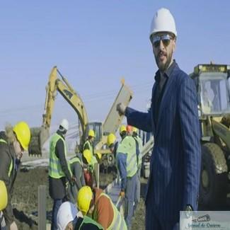 PROTEST INEDIT: Un om de afaceri din Suceava a construit primul si singurul METRU de autostrada din Moldova 1