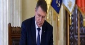 Klaus Iohannis a semnat - Magistrati eliberati din functie 17