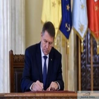 Klaus Iohannis a semnat - Magistrati eliberati din functie 1