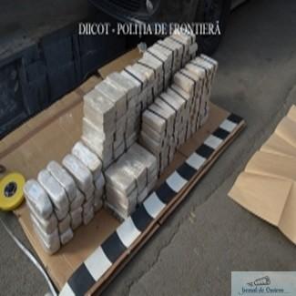 Captura RECORD a DIICOT - Peste 84 de kilograme de heroina au fost introduse in Romania 1