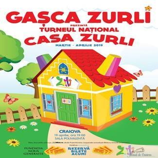 Gasca Zurli vine la Craiova! Casa Zurli, o noua productie marca Zurli despre educatie prin joaca 1