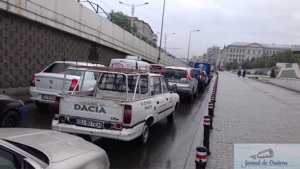 Mitingul PSD a paralizat circulatia din Craiova 2