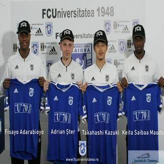 Fotbal : Adarabioyo si Kazuki sunt primele plecari de la Universitatea Craiova! 1